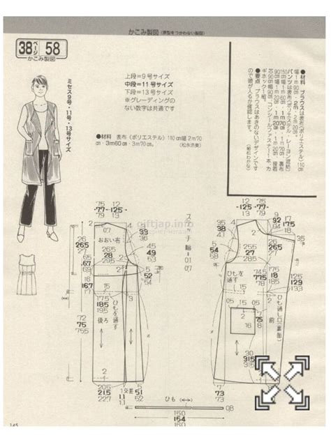 japanese pattern drafting books 5425 best 옷패턴 images on pinterest japanese books ladies