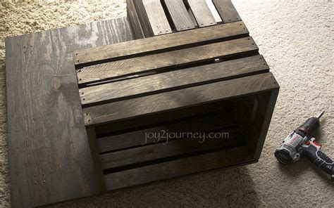 Milk Crate Coffee Table Building A Milk Crate Coffee Table 2 Journey