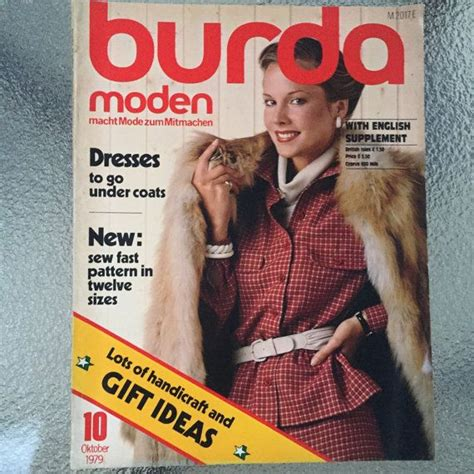 clothes pattern magazine 17 best images about burda moden on pinterest sewing