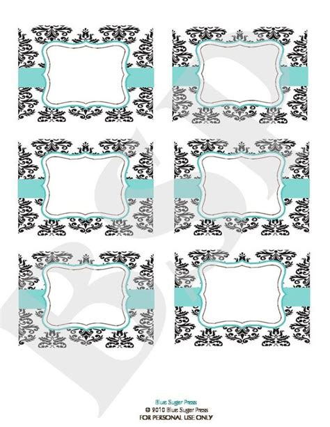 buffet table cards template free buffet printables buffet labels