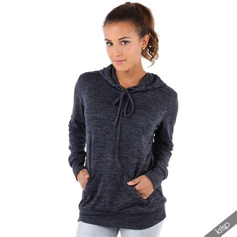 knit hoodie womens soft marl knit hoodie hooded baggy jumper