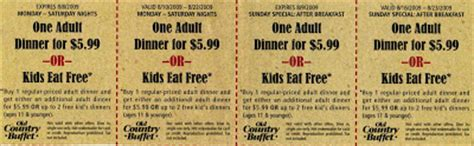 Modal Title Home Country Buffet Coupons