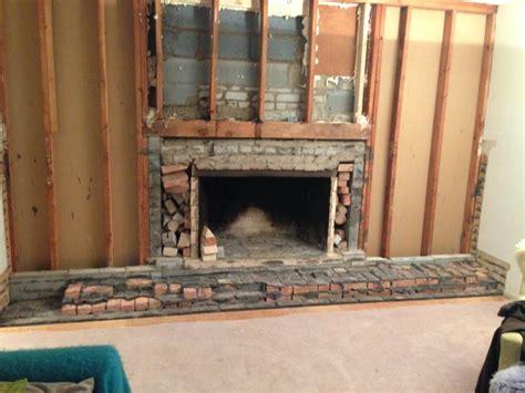 removing fireplace surround brick fireplace demo doityourself community forums