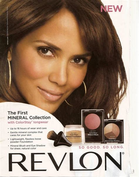 Makeup Revlon halle berry brand revlon makeup blush she12