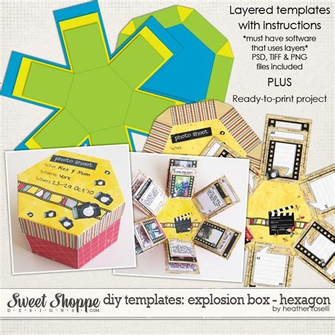 Explosion Gift Card Box Template by 46 Best Images About Explosion Boxes On Gift