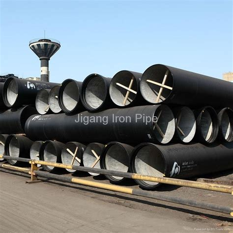 Pipa Ductile Iron Ductile Iron Pipe Dn80 Dn1600 Jigang Iron Pipe China