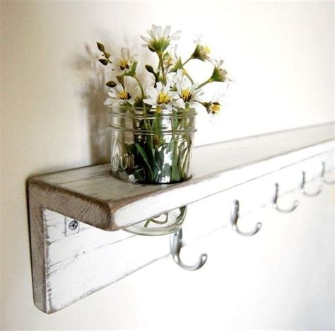 cottage wall shelf white wall shelf furniture cottage style rustic coat