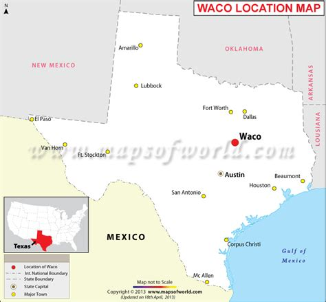 waco texas on the map where is waco located in texas usa