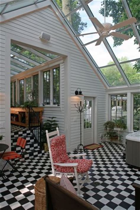Detached Sunroom pin by on backyard buildings