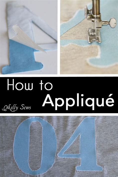 how to applique how to applique a sewing tutorial