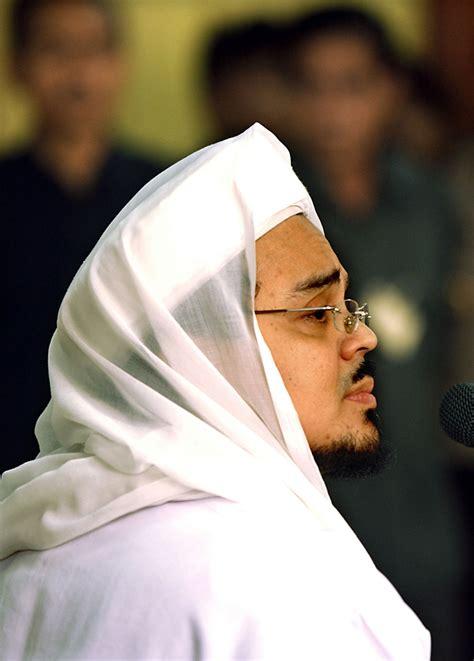 biografi tentang habib rizieq indonesia islamic leader majelis ta lim basaudan