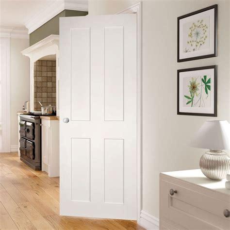 eton white primed victorian shaker door