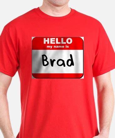 Tshirt Brad brad nametag clothing brad nametag apparel clothes