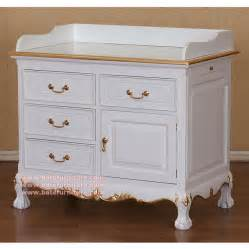 Baby changing table mahogany indonesia furniture