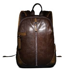 Cowhide Leather Backpack Leather Travel Bags For Men Fashionable Backpack Yearsbag