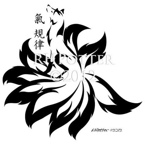 tattoo creator exe nine tailed fox no kanji love it pinterest design