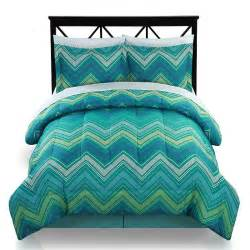 The big one chevron reversible bed set