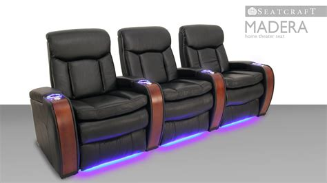 seatcraft innovator home theater seating row of 3 sofa w seatcraft madera home theater seating reviews home review