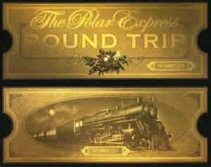 Polar express tickets printable tickets and ticket on pinterest