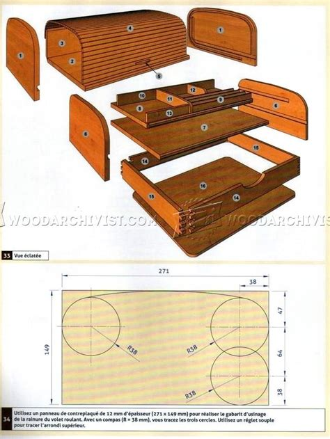 Tambour Desk Organizer Plans Woodarchivist Desk Organizer Plans