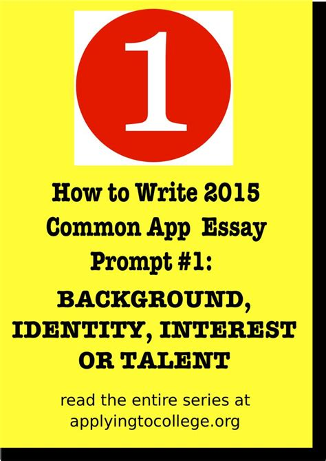 common app essay sle how to write 2015 common application essay some students