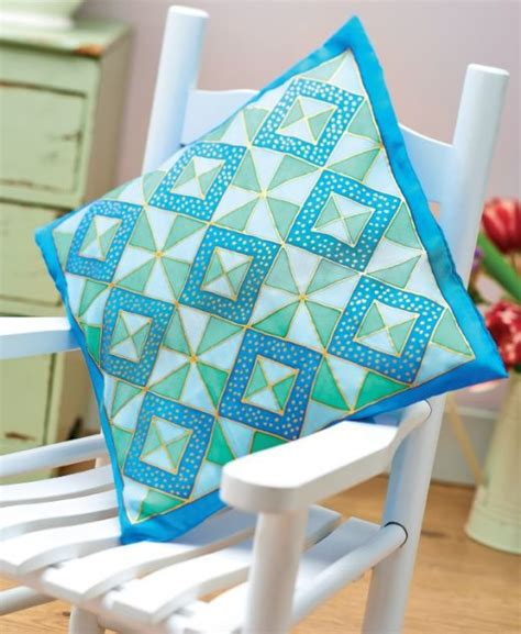 Patchwork Effect - patchwork effect silk painting pattern free card