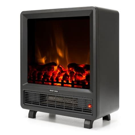 Mini Free Standing Electric Fireplace Stove   18 Inch