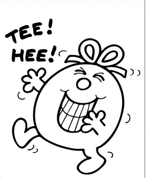 mr men free coloring pages