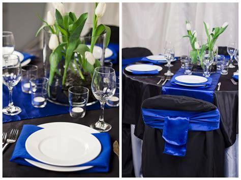 Black And Royal Blue Wedding Ideas