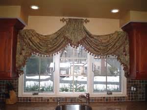 Swag Valances For Windows Designs Swag Window Treatment Ideas Images