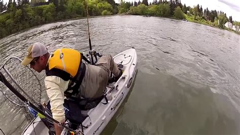 fishing boat gets run over kayak fisherman hit by boat youtube