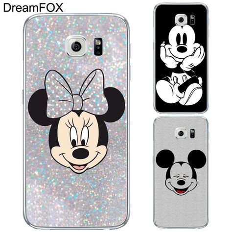 Flipshell Mickey Minnie Mouse Note 3 l136 fashion mickey mouse soft tpu silicone cover for samsung galaxy note 3 4 5 8 s5