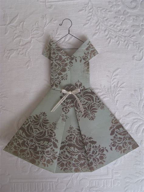 Folded Paper Dress - folded paper dress vintage collection paper dress