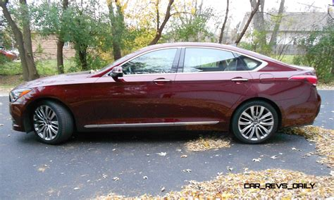 2014 hyundai genesis 5 0 road test review 2015 hyundai genesis 5 0