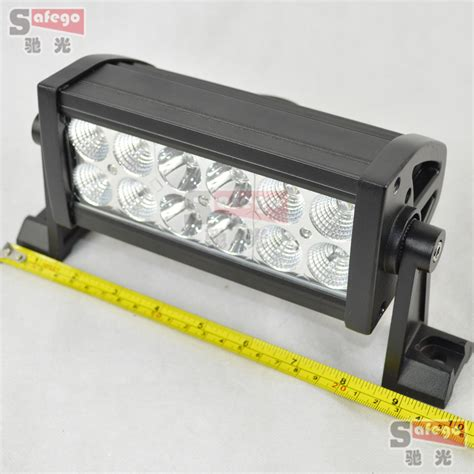 12 Volt Led Light Bar Aliexpress Com Buy 2 Pcs 12 Volt Led Light Bar 36w 12pcs