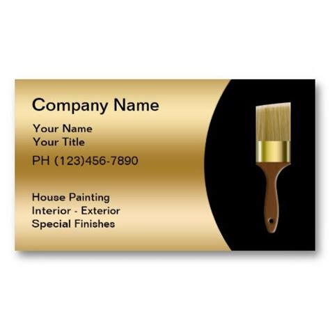 decorating business cards templates 17 best images about business cards for painters on