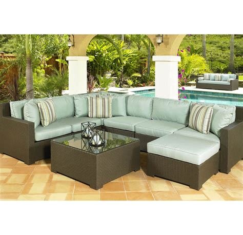 add the of outdoor sectional sofa to your compound