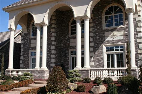 home exterior design with pillars class up your home with columns realm of design inc