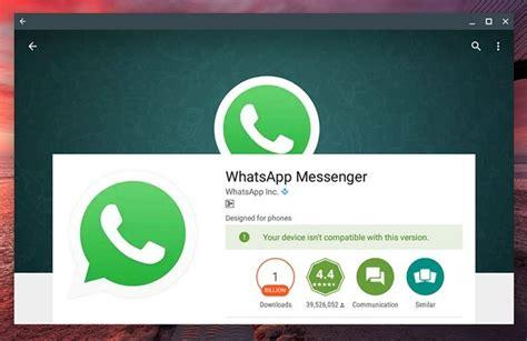 chrome whatsapp how to install and use whatsapp on chromebook beebom