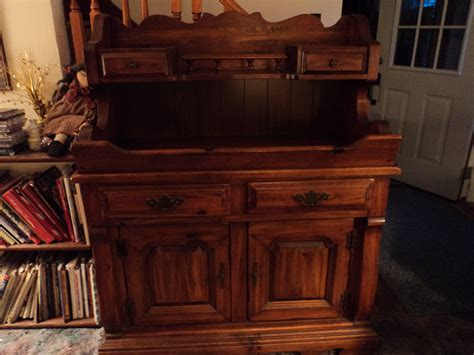 country pine dry sink/buffet/server For Sale   Antiques.com   Classifieds