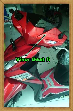 Windshield Motor Jogja jual visor batman beat fi original astra kredit