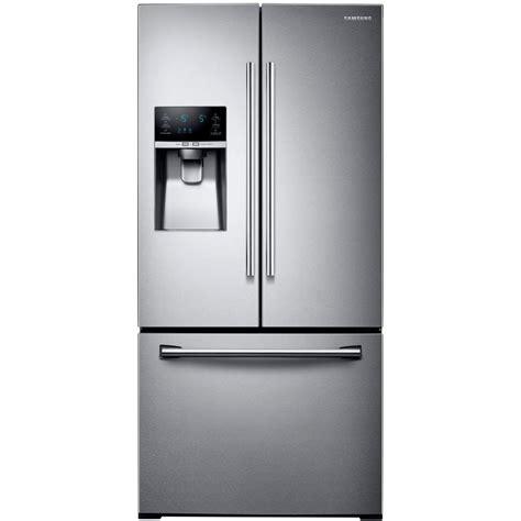 Samsung Door Refrigerator Temperature Settings by Samsung 33 In W 25 5 Cu Ft Door Refrigerator In