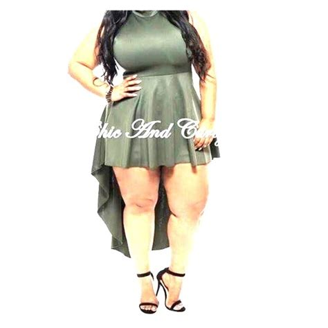 Dress Olive Size 5 6 Tahun eien olive green high low plus size dress from s closet on poshmark