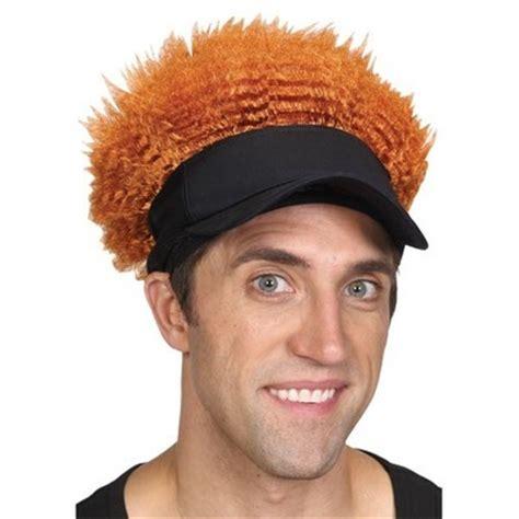 pub shop wigs male wig ginger pub golf fancy dress wig mens stag night hat wig crazy