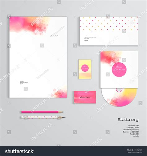 business card envelope template vector vector identity templates letterhead envelope business