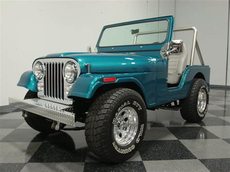 aqua jeep aqua 1978 jeep cj5 for sale mcg marketplace