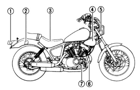 Yamaha Virago Xv250 Service Workshop Manual 1988 1989 1990