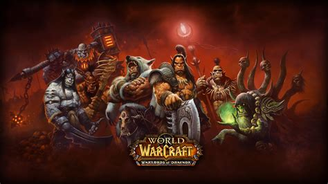 World Of Warcraft Warlords Of Draenor Pc Tapety