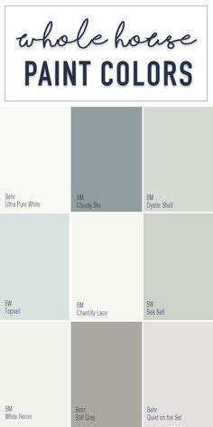 foolproof paint selections for an open concept floor plan