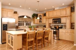 Colors For Kitchens With Maple Cabinets Kitchen Colors With Maple Cabinets Home Furniture Design